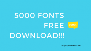 5000 Fonts free Download! NiravAsif Blog