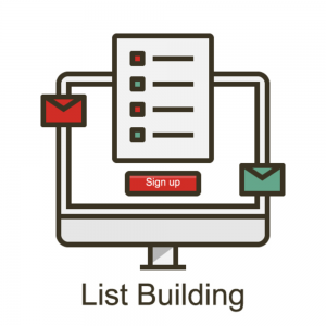 Email Subscriber List Building